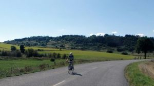 Cyclistes en campagne